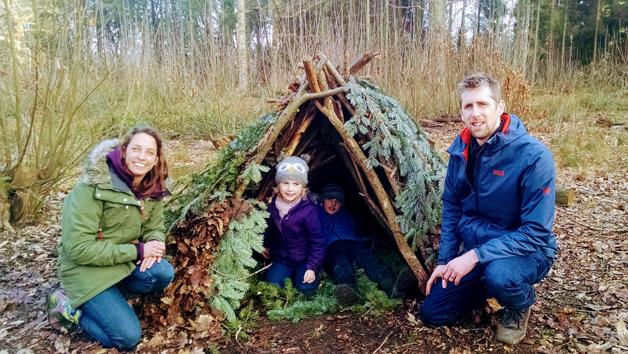 Children's Mini Outdoor Survival Adventure for Four