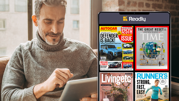 12 Month Subscription to Readly with Access to Over 5000 Magazines and Newspapers