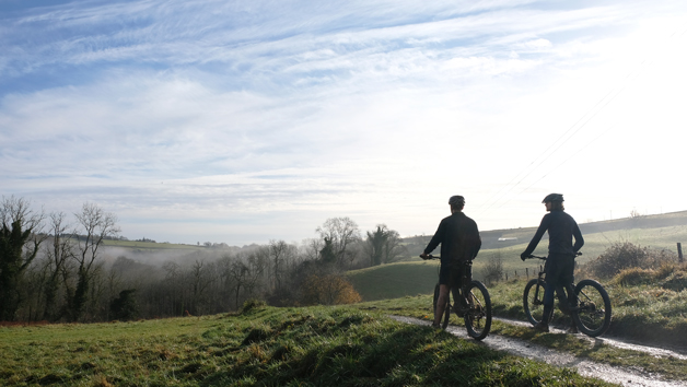 Half Day Guided Bike Tour with Refreshments for One at Wild Carrot