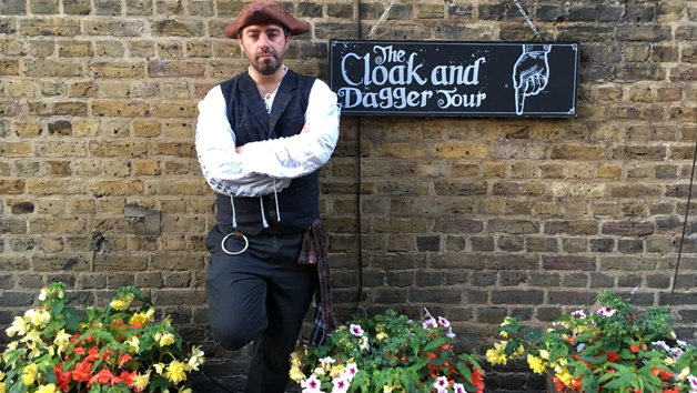 The Cloak and Dagger Historic Walking Tour in London for Two