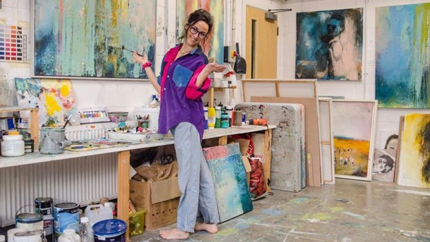 Painting Lesson at Georgie Mason Art for Two