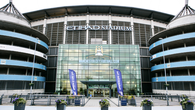 Manchester City Stadium and Football Academy Tour for Two