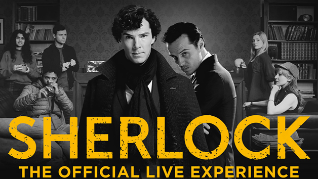 Sherlock: The Official Live Escape Room for Two People and a Free Digital Photo