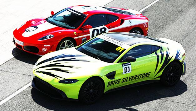 Aston Martin versus Ferrari Experience at Silverstone
