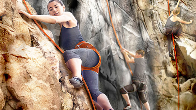 The Bear Grylls Adventure, High Ropes and Climb for Two