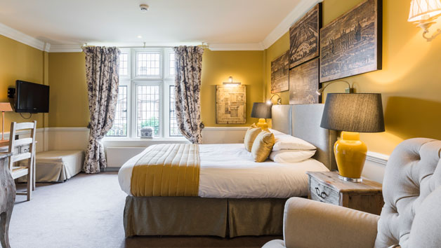 One Night Escape for Two at Coombe Abbey