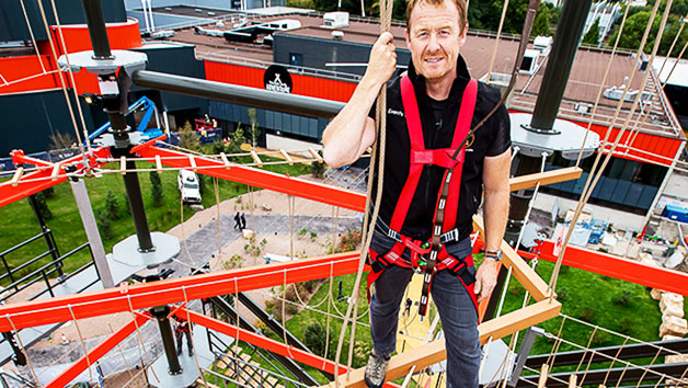 The Bear Grylls Adventure Basecamp and High Ropes for Two