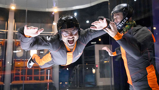 The Bear Grylls Adventure, High Ropes, Climb, iFLY and Dive for Two