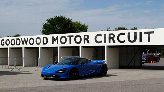 Supercar Driving Blast at Goodwood for One Person