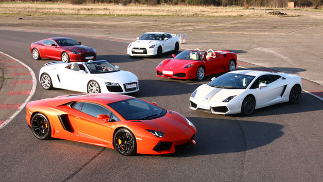 Five Supercar Driving Blast at Goodwood for One Person