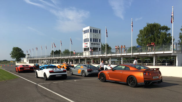 Five Supercar Driving Thrill at Goodwood for One Person