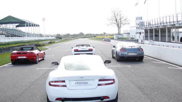 Four Supercar Driving Thrill at Goodwood for One Person