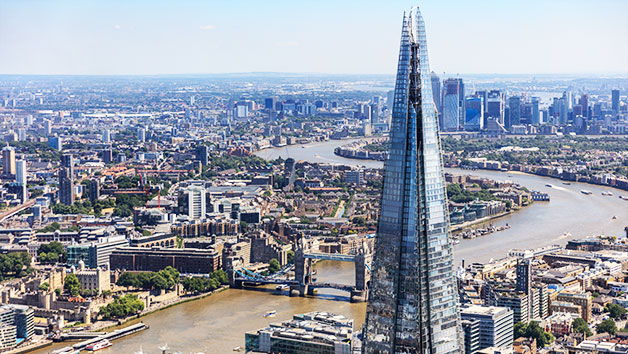 The View from The Shard and Three Course Lunch at Ametsa for Two