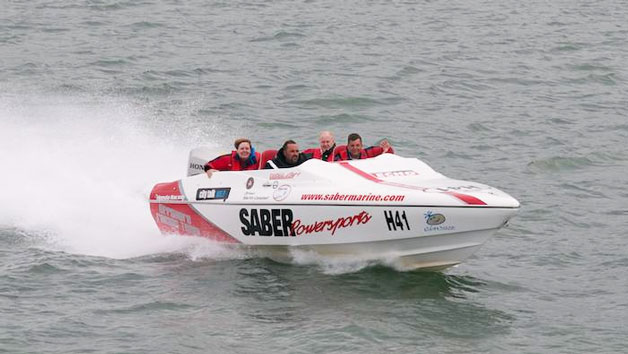 Offshore Powerboat Driving for Two