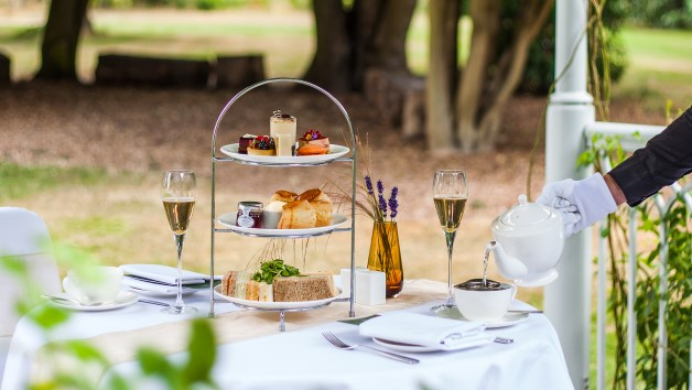 Champagne Afternoon Tea for Two at Sopwell House