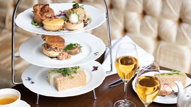 Afternoon Tea with Bottomless Prosecco for Two at The Athenaeum