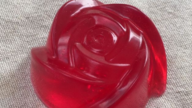 Rose Soap Crafting Kit with The Soap Loaf Company for One