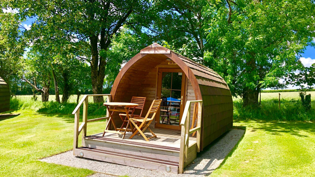 Two Night Stay in a Super Camping Pod for Two in Devon
