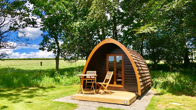 Two Night Stay in a Camping Pod for Two in Devon