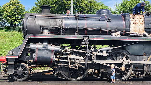 Family Steam Trip in Hampshire