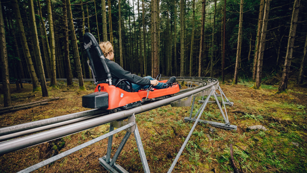 Fforest Coaster Ride at Zip World, Wales