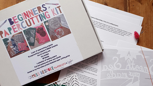 A Beginners One Year Paper Cutting Kit