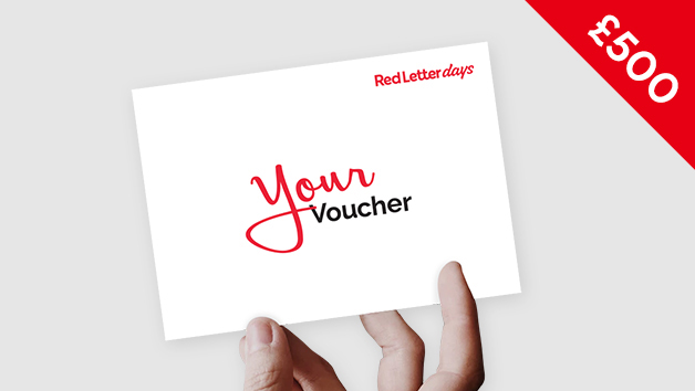 Red Letter Days £500 Gift Card