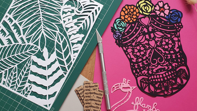 Virtual Online Paper Cutting Beginners Workshop for One