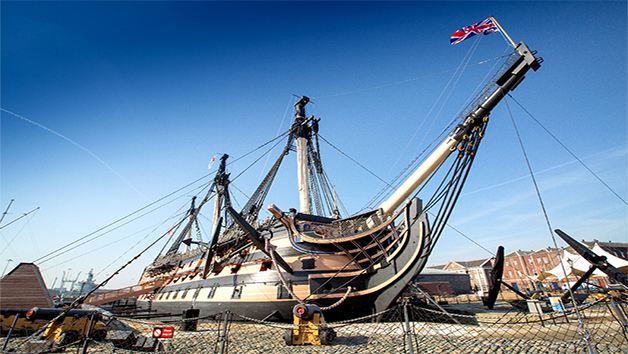 Off Peak Portsmouth Historic Dockyard Annual Pass for Two