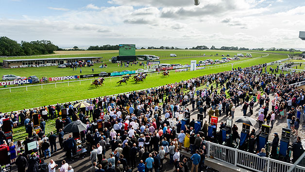 Horse Racing Day at Southwell Racecourse for Two