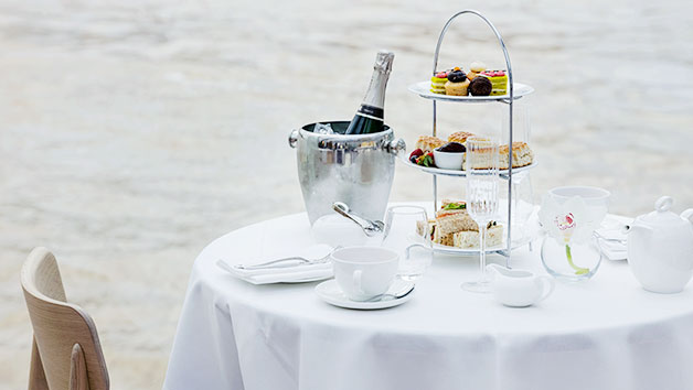 Bateaux Afternoon Tea with Champagne and Thames Cruise for Two