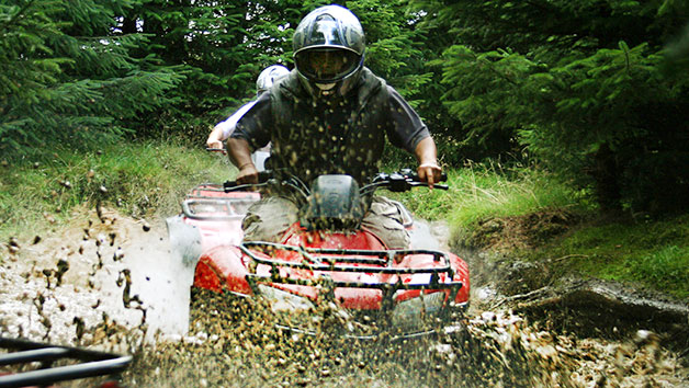 Quad Biking and Archery at Deeside Activity Park for Two