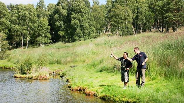 Target Shooting and Fly Fishing at Deeside Activity Park for Two