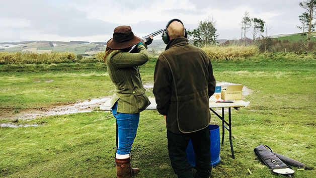 Clay Shooting at Deeside Activity Park for Two
