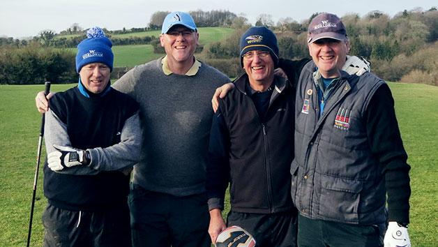 One Hour Golf Lesson with PGA Professional for Two at Worldham Golf Academy