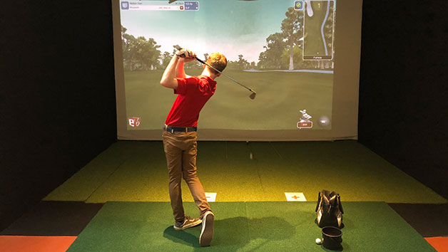Virtual Golf Experience for Two at St Andrews Indoor Golf Centre