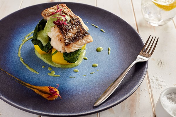 Three Course Meal and a Glass of Champagne for Two at The Yacht London