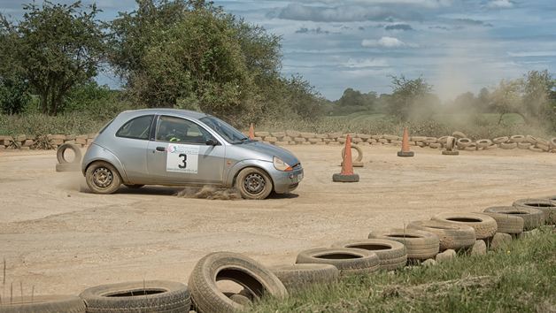 Full Day Junior Rally Driving Experience at Silverstone Rally School for One