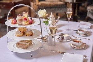 Afternoon Tea With A Glass Of Champagne For Two At Dukes Hotel London