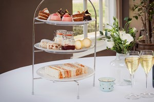 Afternoon Tea with Bubbles for Two at the 5-star Yorebridge House