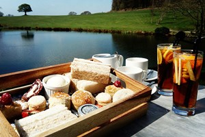 Champagne Afternoon Tea for Two at Shrigley Hall Hotel