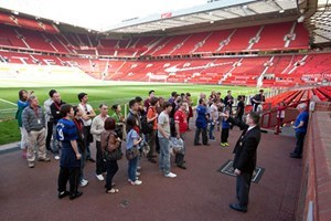 Old Trafford Manchester United Stadium Tour For Two Adults And Two Children