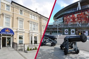 Arsenal Emirates Stadium Tour With Overnight Stay For Two At Best Western Highbury