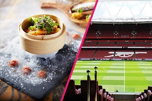 Arsenal Tour Of Emirates Stadium And Three Course Meal With Cocktails For Two At Shaka Zulu