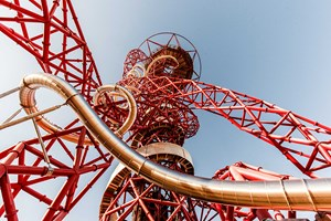 The Slide At The Arcelormittal Orbit Family Ticket