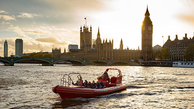 Click to view product details and reviews for Thames Rockets Evening Powerboating With Cocktail For Two London.