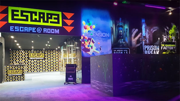 Click to view product details and reviews for Choice Of Escape Room At The Escape Room Barrow For Two.