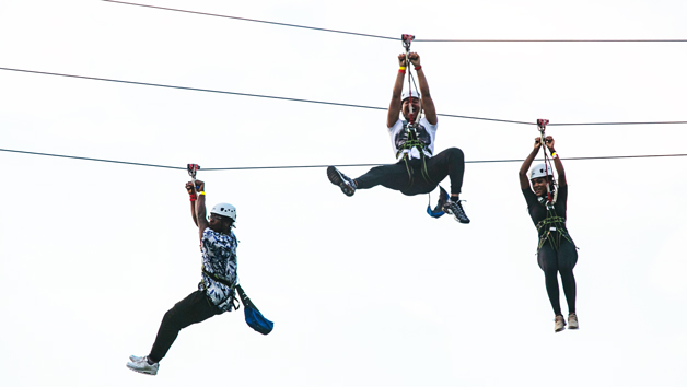 City Zip Ride In London City For Four