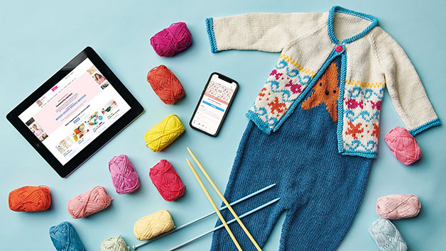 12 Month Let's Knit Together Online Subscription For One