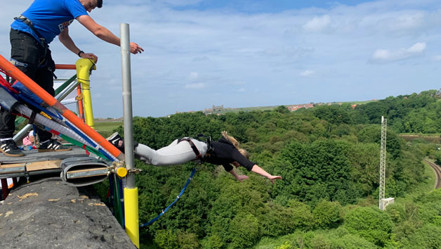 Bridge Bungee Jump For One In Whitby